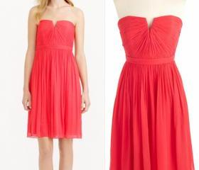 2015 Red Bridesmaid Dresses, Knee-Length Bridesmaid Dresses, Sweetheart Bridesmaid Dresses, Chiffon Bridesmaid Dress, Bridesmaid Dresses, Bridesmaid Dresses For Wedding