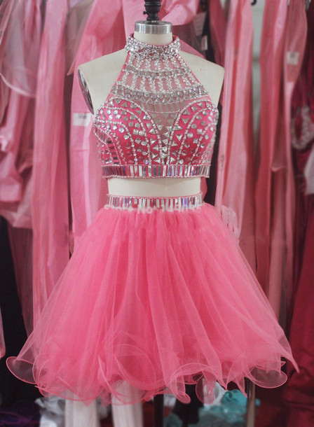 New Arrival Short/Mini Beading Homecoming Dresses, Party Dresses, Homecoming Dresses, Real Made Graduation Dresses,On Sale