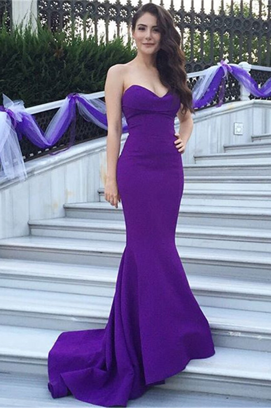 Purple Prom Dresses 2016 Long Cheap 75