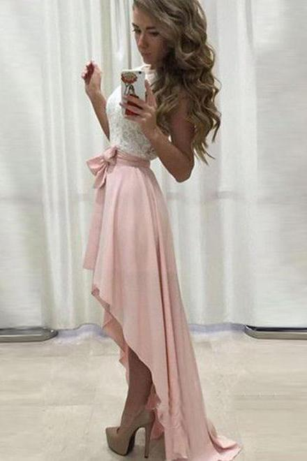 Short Front Long Back Prom Dresses,Homecoming Dresses,Elegant Prom Dresses,Prom Dresses For Teens,Cute Dresses,Simple Cheap Homecoming Dresses DR0148