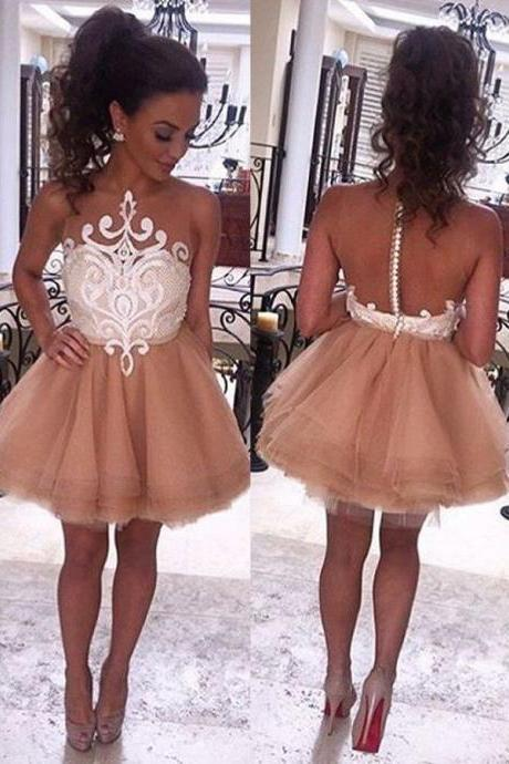 Princess Homecoming Dresses,Short Homecoming Dress,Cute Dresses,Sweet 16 Dresses,Modest A-line Homecoming Dresses For Teens DR0385