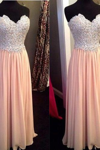 Bridesmaid Dresses, A-line Prom Dresses,Beaded Evening Dresses,Long Prom Dresses,Modest Prom Dress,Custom Made Prom Dresses,Party Dresses