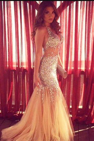 Sparkly Prom Dresses,Long Prom Dresses,2017 Prom Dresses,Mermaid Prom Dresses,Sexy Prom Dresses,Backless Prom Dresses,Evening Dresses,Women Dresses DR0010