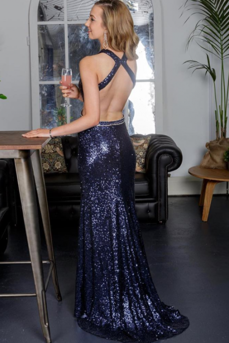 Mermaid Prom Dresses,Navy Blue Prom Dresses,Long Prom Dresses,Cheap Prom Dresses,Backless Prom Dress,Modest Prom Dresses,Prom Dresses For Teens,Sexy Prom Dresses